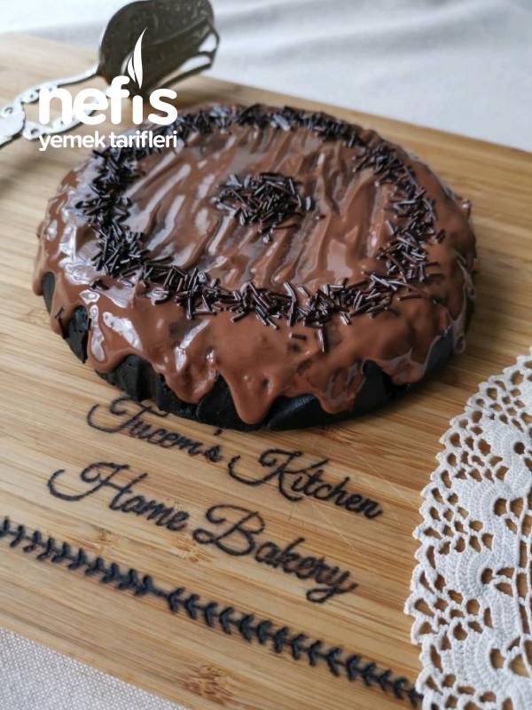 Yumurtasız Çikolatalı Kek (5dk)
