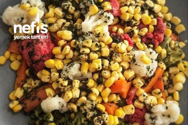 Brokoli Ve Karnıbahar Salata Tarifi