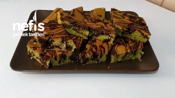 Ispanaklı Çikolatalı Kek