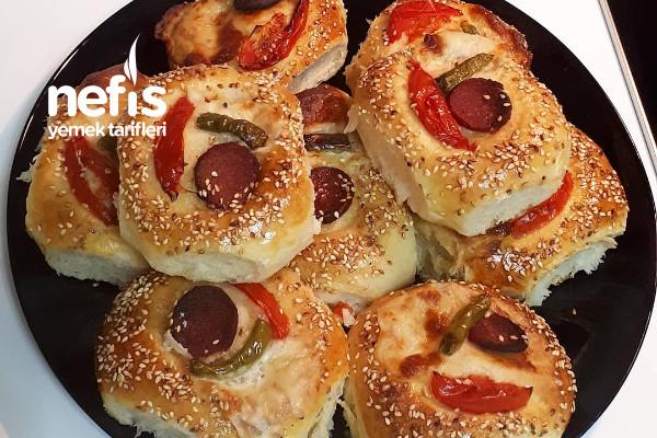 Pizza Poğaça (20 Adet) Tarifi