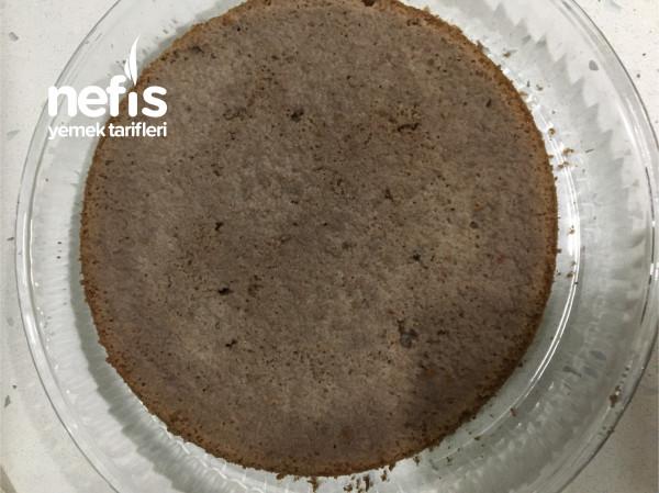 Pratik Yaş Pasta (Hazır Kek İle)