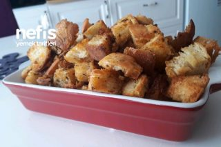Çorbalık Zeytinyağlı Kıtır Ekmek Tarifi