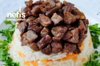 Etli Havuçlu Pirinç Pilavı Lezzeti Harika Tarifi