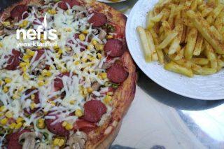 Pizza (Dominostan Daha İyi) Tarifi