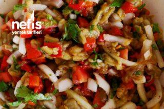Püf Noktasıyla Patlıcan Salatası Tarifi