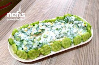 Serinletici Semiz Otu Salatası Tarifi