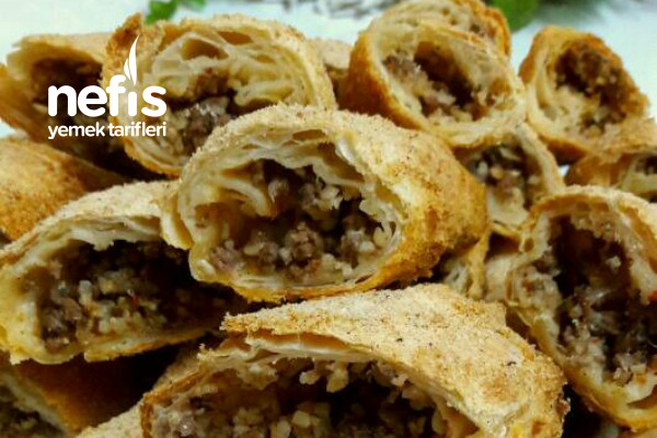 İçli Köfte Tadında, Yufkalı İçli Köfte Böreği Tarifi