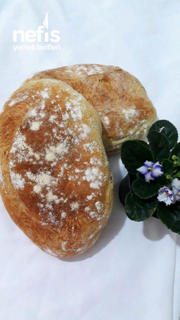 İki Çeşit Unla Ekmek Tarifi