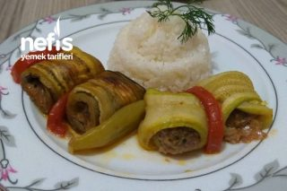 Patlıcan ve Kabak Sarma Tarifi