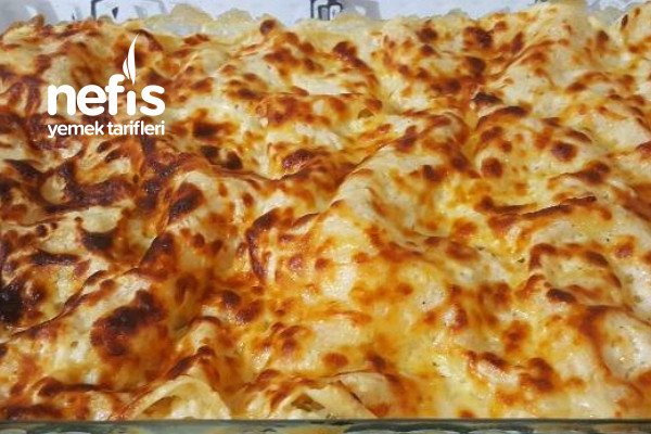 Peynirli Lazanya (Çok pratik ve lezzetli) Tarifi