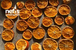 Portakal Nasıl Kurutulur Tarifi