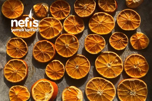 Portakal Nasıl Kurutulur