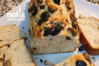 Zeytinli Sarımsaklı Ekmek Tarifi