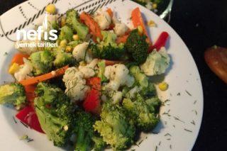 Brokoli Karnabahar Salatası (Diyet Gün Salataları) Tarifi