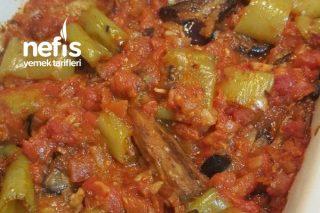 Fırında Domatesli Patlıcan Tarifi