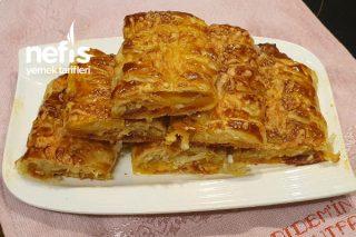Jet Hızıyla Börek Pizza Tarifi