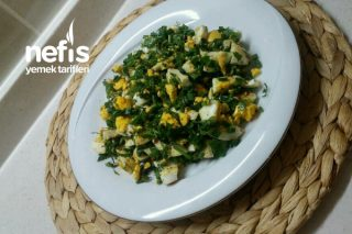 Kahvaltılık Yumurta Salatası Tarifi