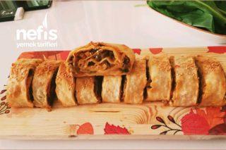 Patlıcanlı Rulo Börek Tarifi