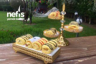 Porsiyonluk Rulo Pastalarım Tarifi