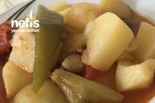 Sulu Etli Patates Yemeği Tarifi