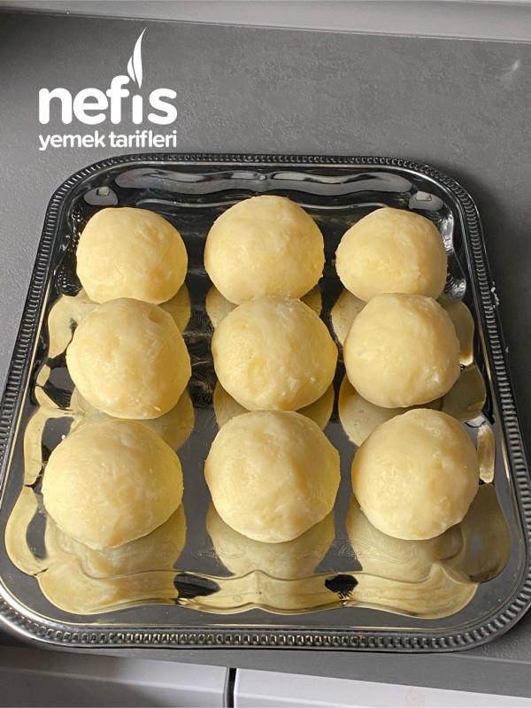 Tavuklu Patates Topları