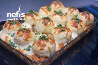 Tavuklu Patates Topları Tarifi