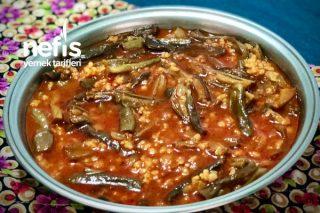 Çan Yemeği (Kuru Patlıcan Yemeği) Tarifi