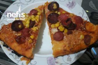 Evde Pufidik Pizza Tarifi