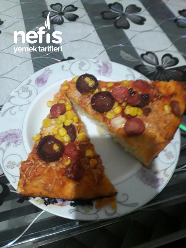 Evde Pufidik Pizza