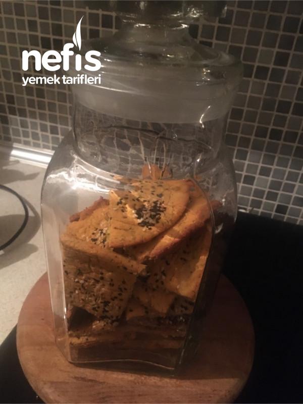 Glutensiz Tuzlu Kraker