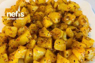 Kahvaltılık Kekikli Patates Tarifi
