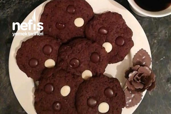 Triple Chocolate Cookie Tarifi