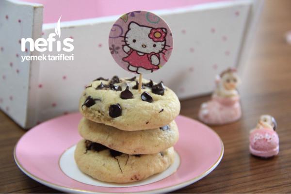 Damla Çikolatalı Kurabiye (Videolu)