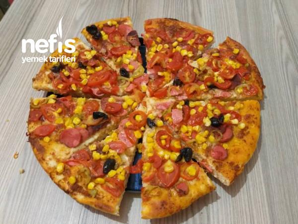 Ev Yapımı Pizzam