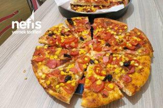 Ev Yapımı Pizzam Tarifi