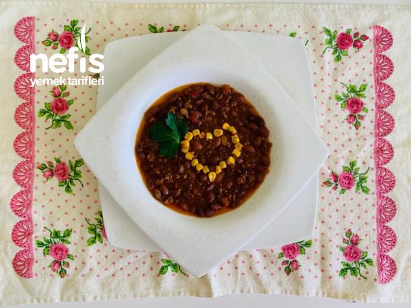 Meksika Fasulye Yemeği