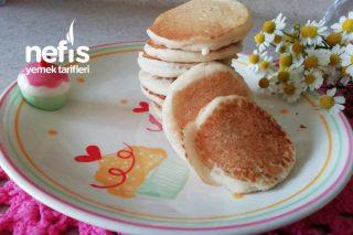 Sütsüz , Yumurtasız Pankek (Alerjisi Olan Bebeklere) Tarifi