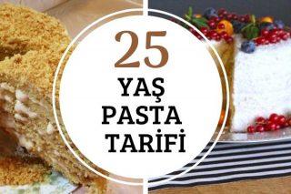 25 Denenmiş Yaş Pasta Tarifi