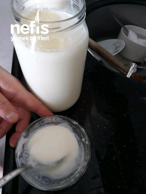 Atesolcerle Kavanozda Yogurt Yapma