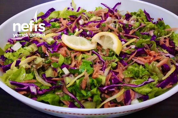 En Kolay Salata (5 Dakika)