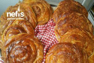 Haşhaşlı Tahinli Tel Tel Pastane Çöreği Tarifi