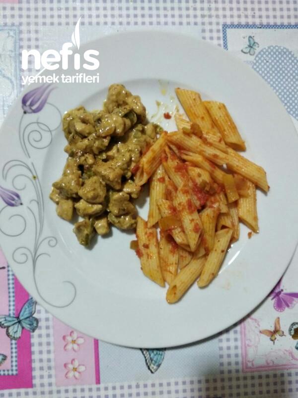 Kremalı Tavuk Sote (Meksika Usulü)