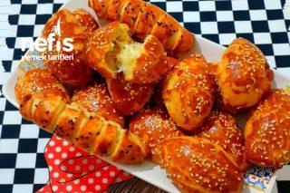 Mayasız Peynirli Poğaça (videolu) Tarifi
