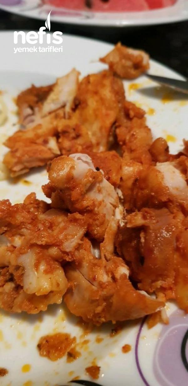 Soslu Tavuk Kızartması