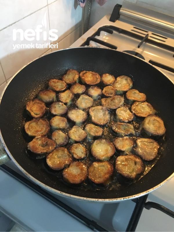 Sütlü Patlıcan Karıştırması