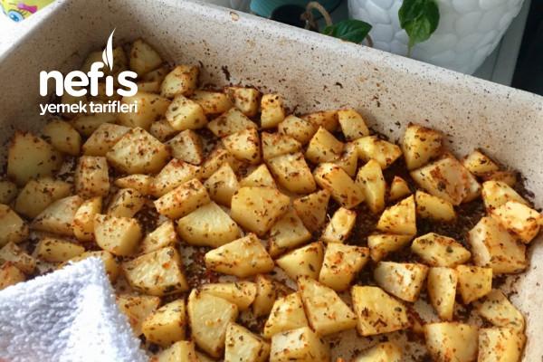 Tadı Doyum Olmayan Fırında Patates