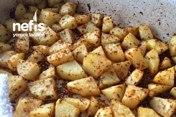 Tadına Doyum Olmayan Fırında Patates Tarifi