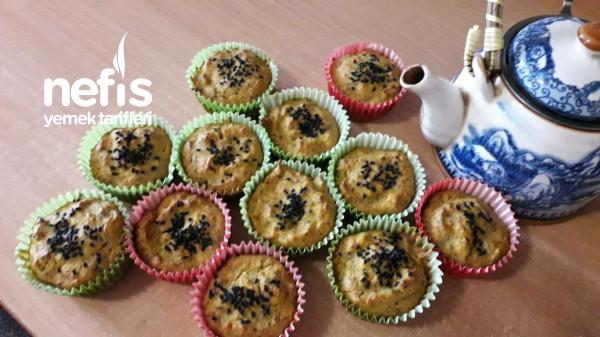 Tuzlu Sebzeli Muffin