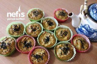 Tuzlu Sebzeli Muffin Tarifi