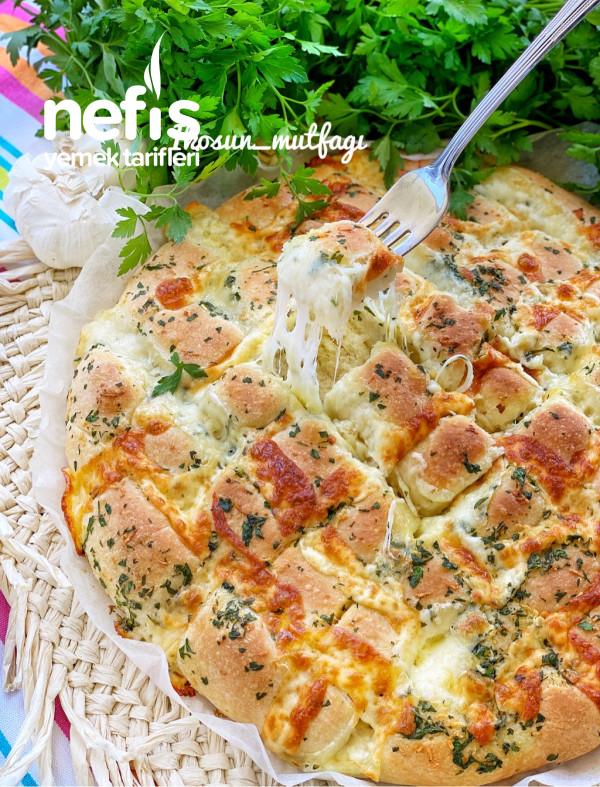 Yok Böyle Lezzet Muhteşem Aromalı Sarımsaklı Ekmek